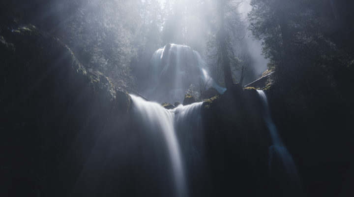 Washington Waterfall Landscape Photography.
