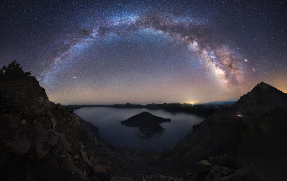 oregon milky way photography