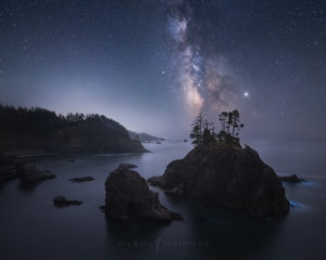 Oregon Coast Milky Way Photography