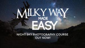 milky way tutorial
