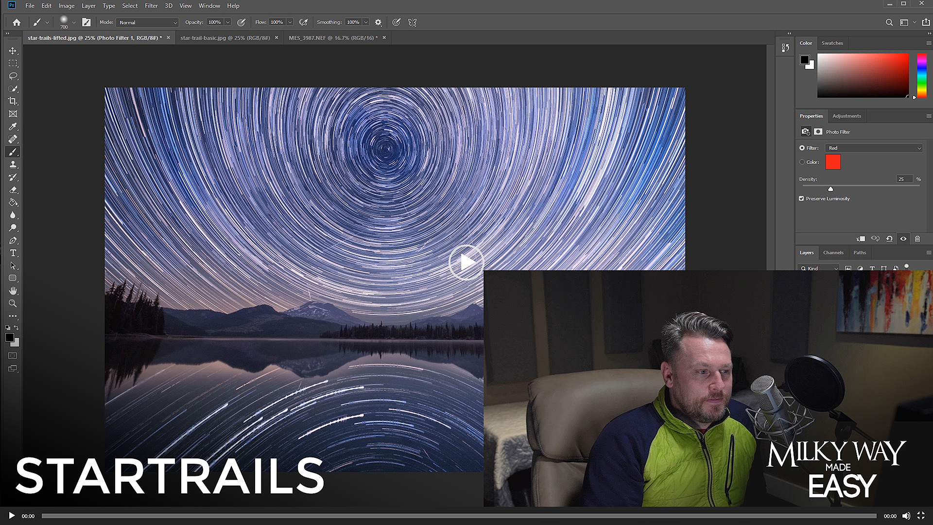 Night Sky Milky Way Tutorial Image