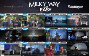 milky way photography tutorial
