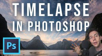 photoshop timelapse tutorial