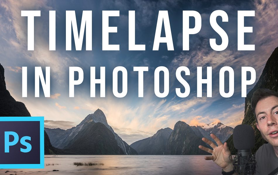 photoshop timelapse tutorial