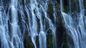 Burney Falls California Landscape Photography, Waterfall