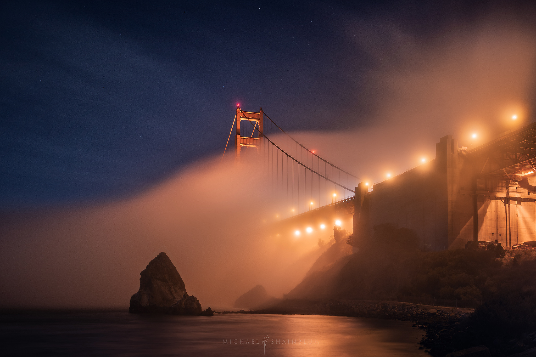San Francisco Fog Landscape Photography, San Francisco Timelapse