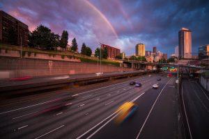 Seattle Timelapse Timeblend Image
