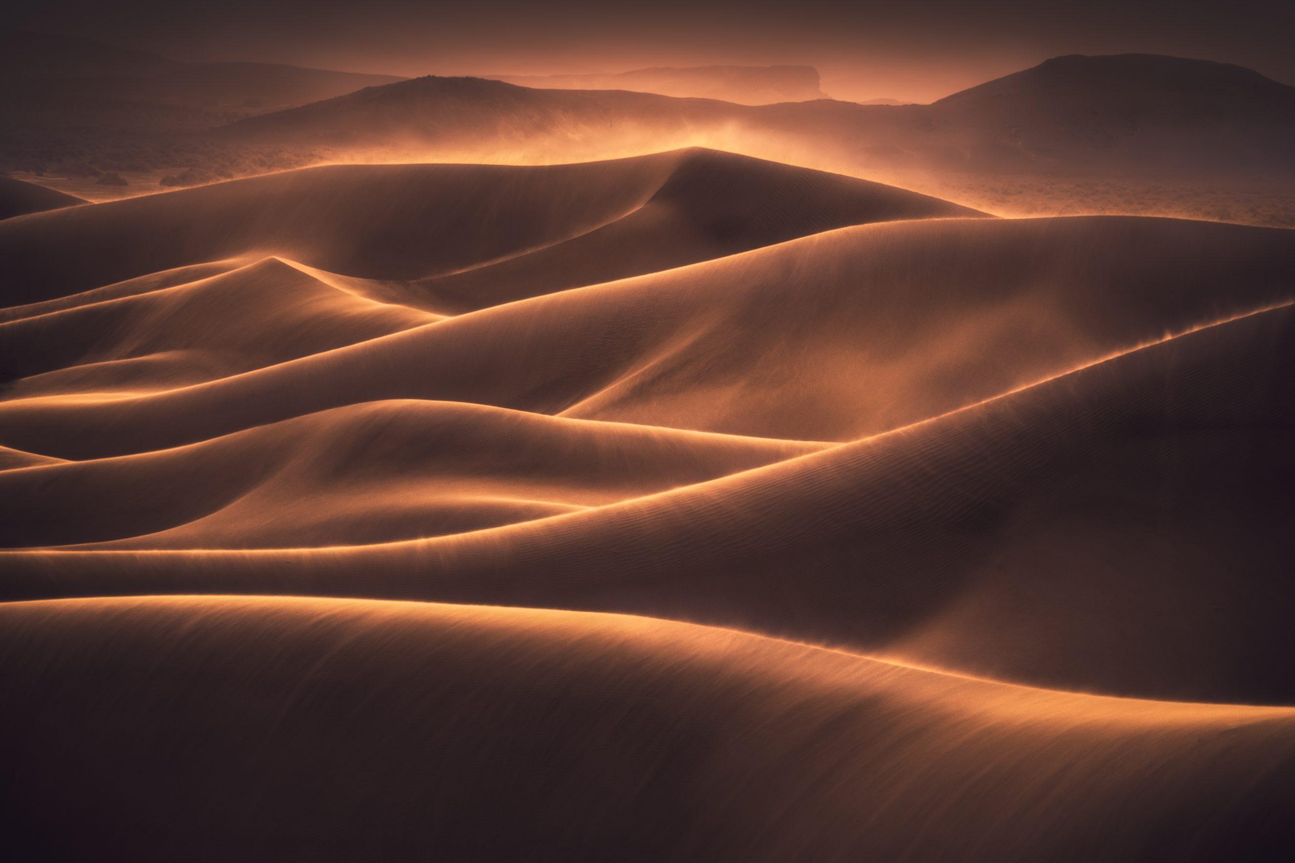 landscape photography sand dunes