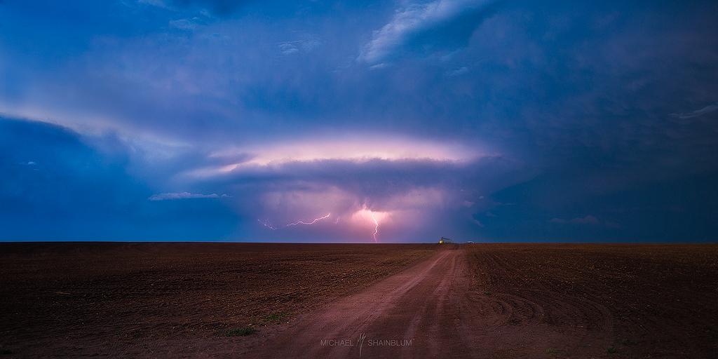 Lightning Great Plains