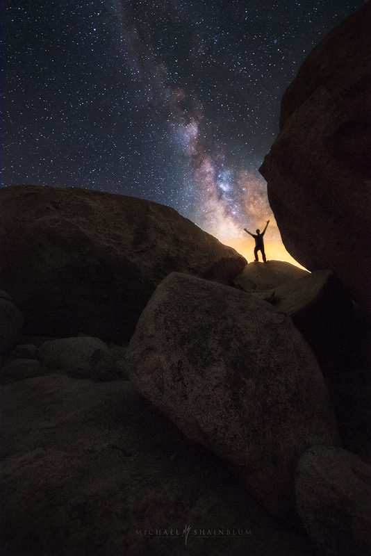 Hike Milky Way Adventure