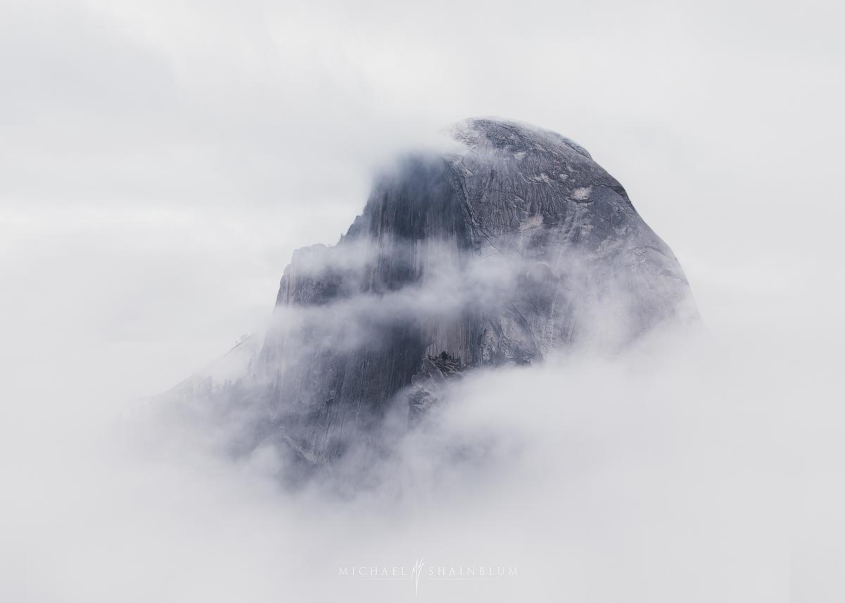 Yosemite timelapse clouds