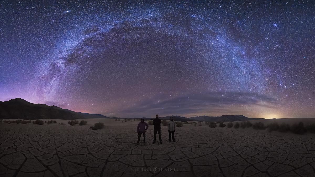Milky Way Galaxy Death Valley