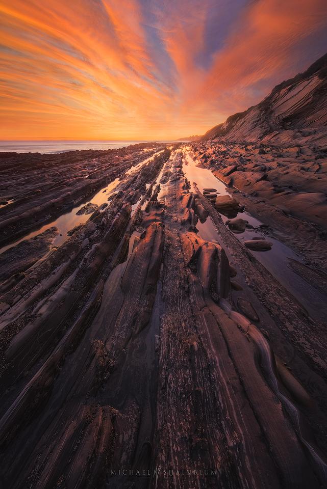 Gaviota Sunset Beach.