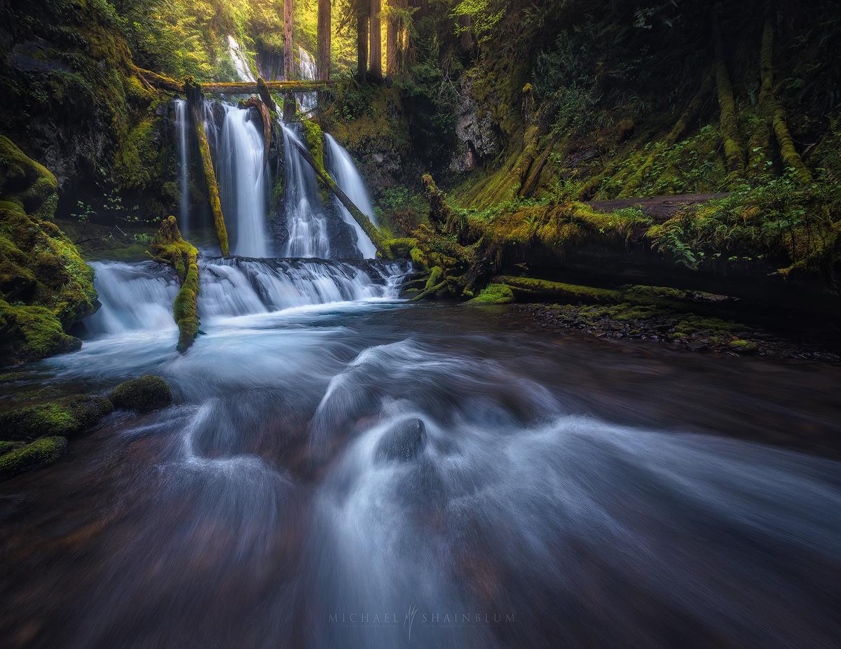 Waterfall Washington
