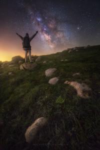 Milky Way Night Sky California Adventure
