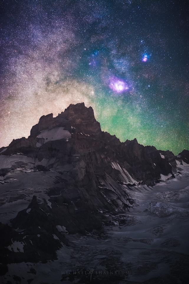 Mount Rainier Milky Way
