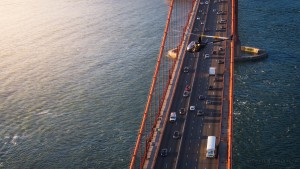 Helicopter Golden Gate Bridge San Francisco