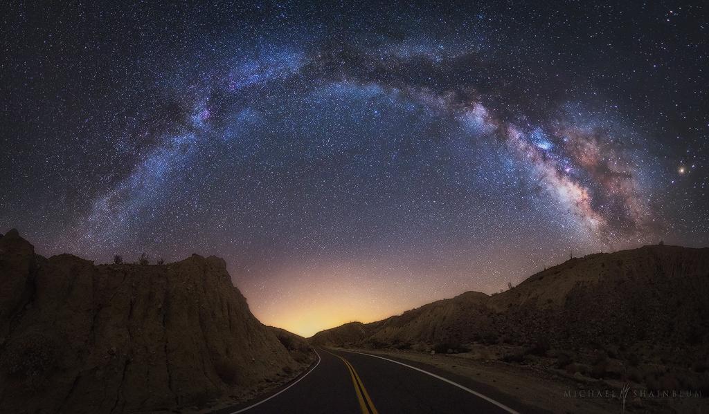 Milky Way Road Anza Borrego California