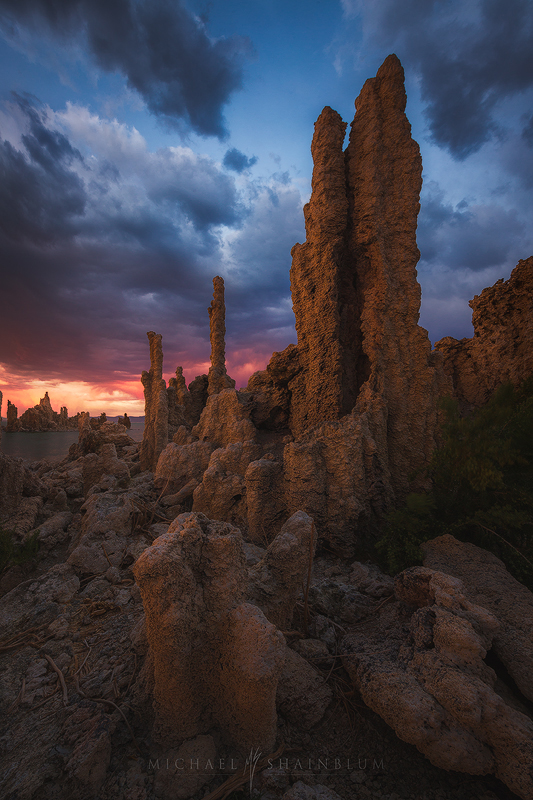 Mono Lake Sunset Tufas