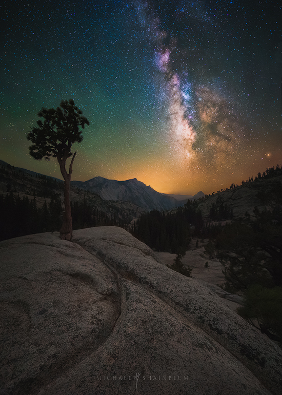 Olmsted Point Yosemite Milky Way