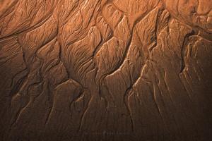 San Francisco Beach Sand Abstract Photo