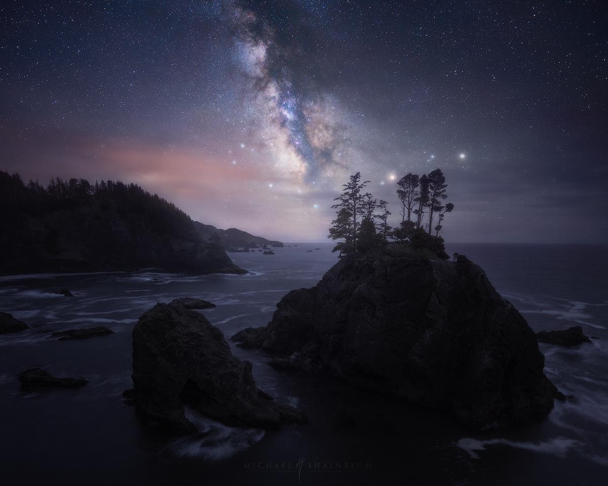 Oregon Milky Way