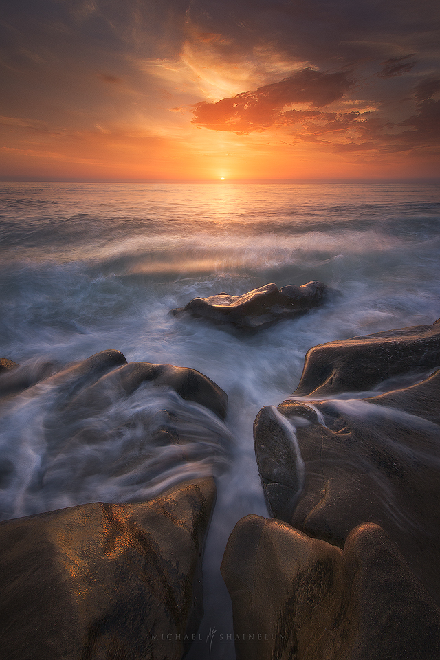 Coast San Diego Sunset