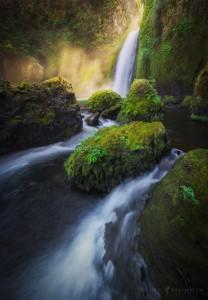 Wahclella Falls Oregon Waterfall Photography