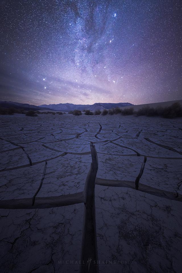 Milky Way, Galaxy, Death Valley