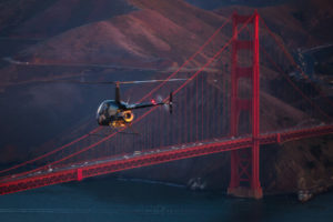 Golden Gate Bridge Aerial, San Francisco