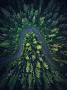 aerial photography, oregon