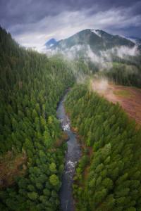 oregon aerial video
