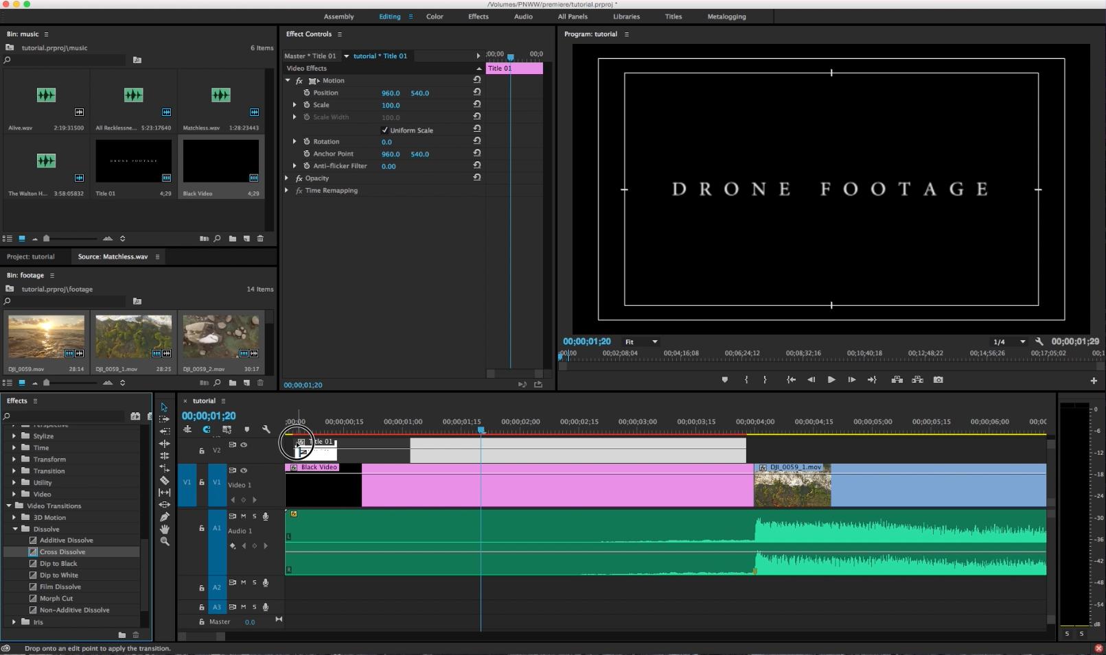 adobe premiere video editing tutorial basics
