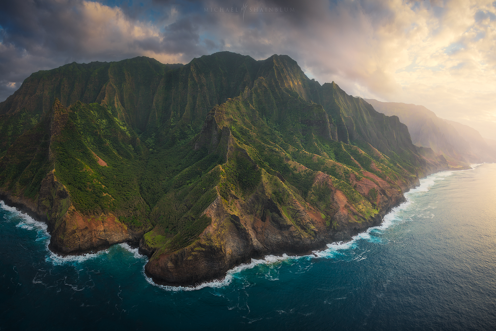 Hawaii Aerial Landscape Photography