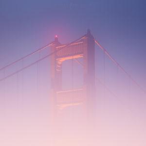golden gate bridge fog, san francisco photography