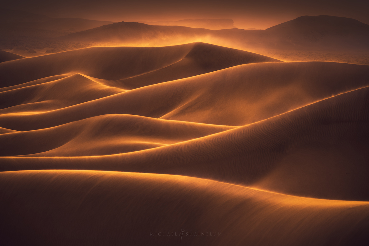 Death Valley, being creative in landscape photography