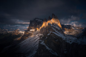 Dolomites Sunset Landscape Photography