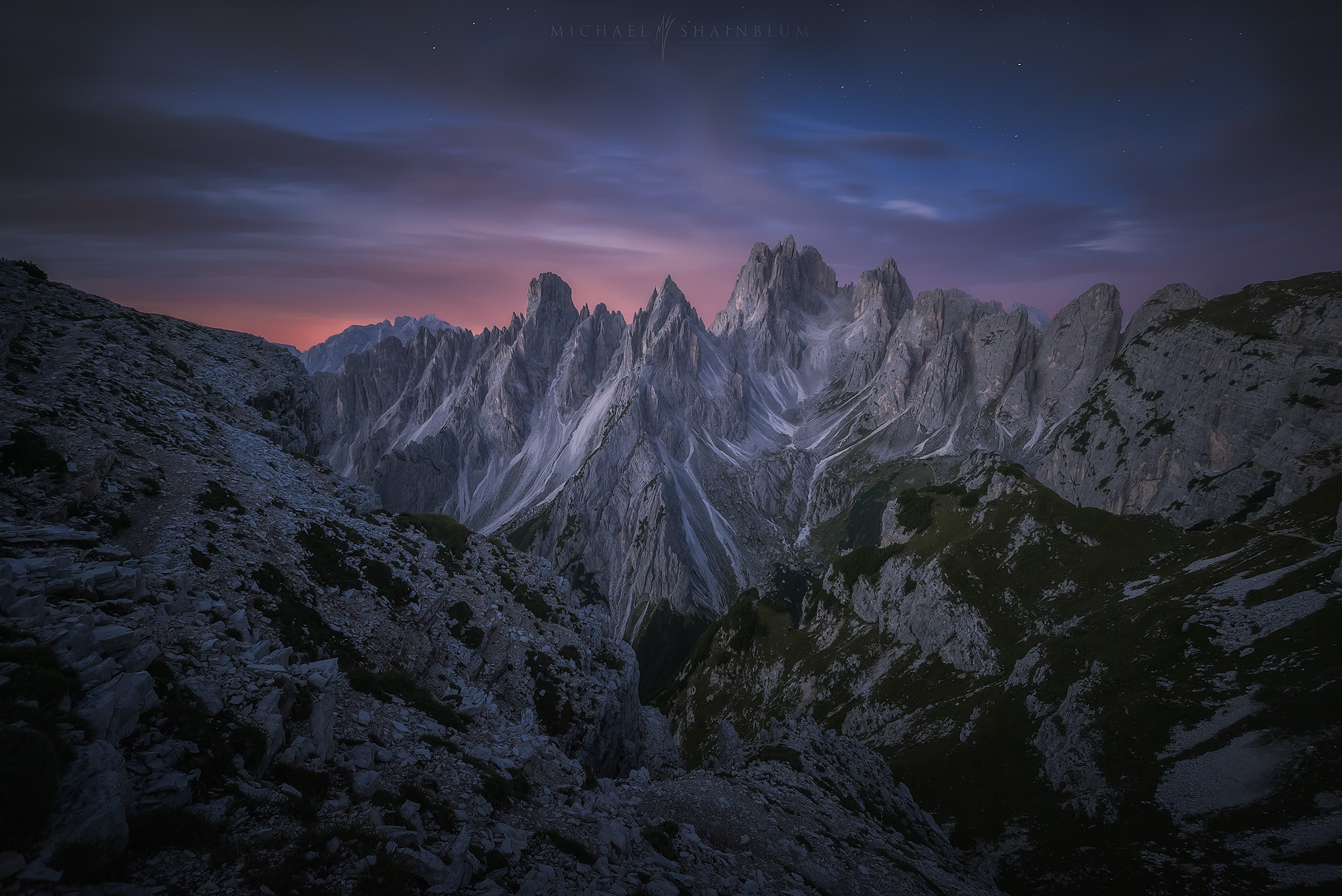 Dolomites Mountain Sunrise Landscape Photography