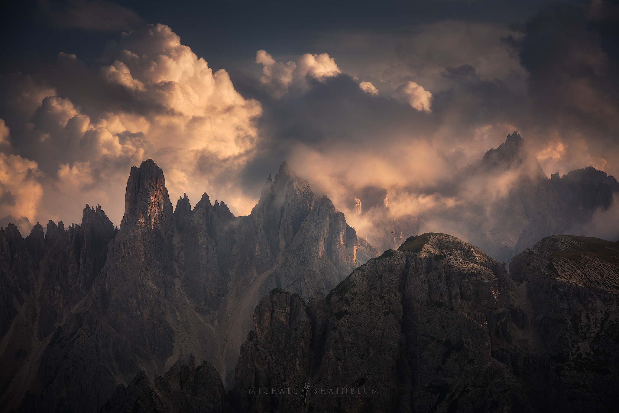 Tre Cime Dolomites Landscape Photo