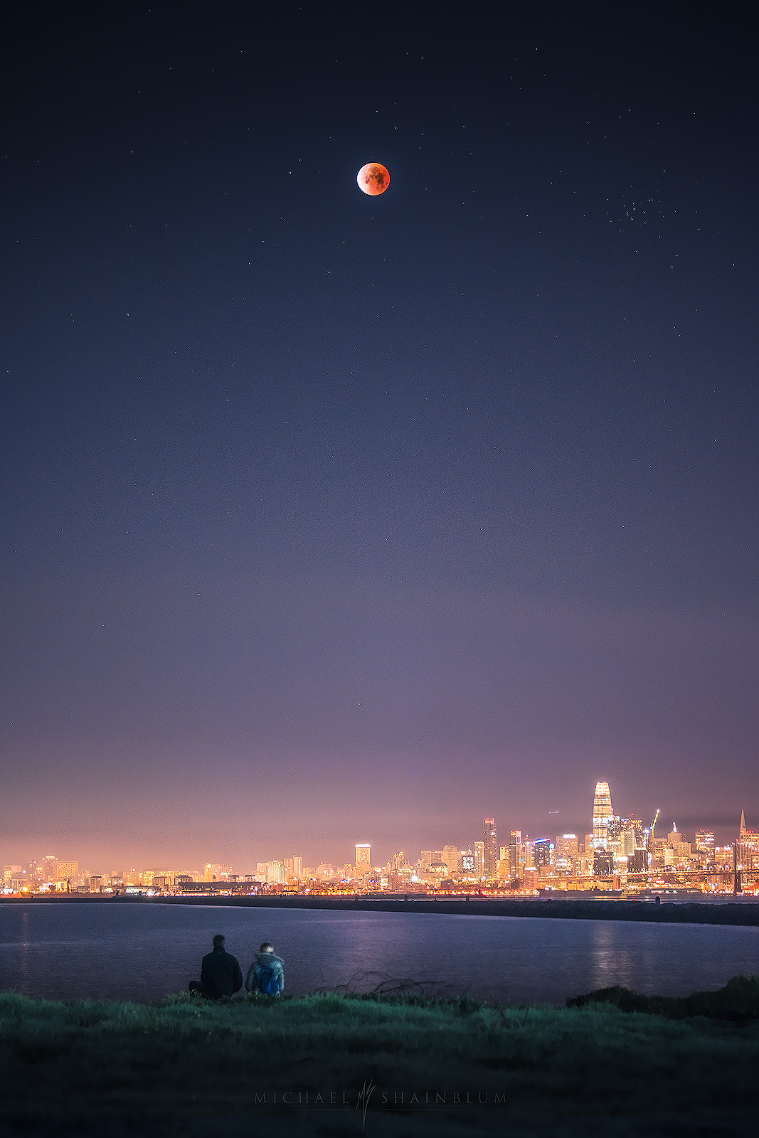 Eclipse over San Francisco