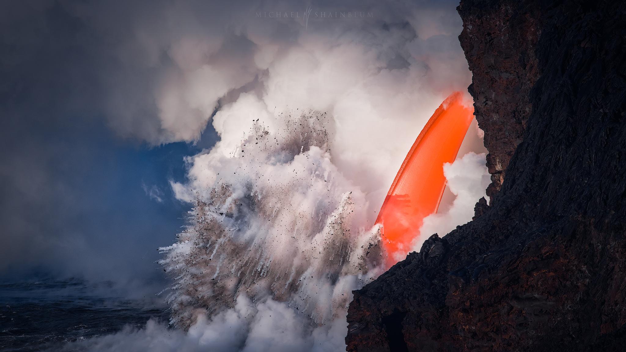 Volcanoes National Park: Hawaii Lava Photography