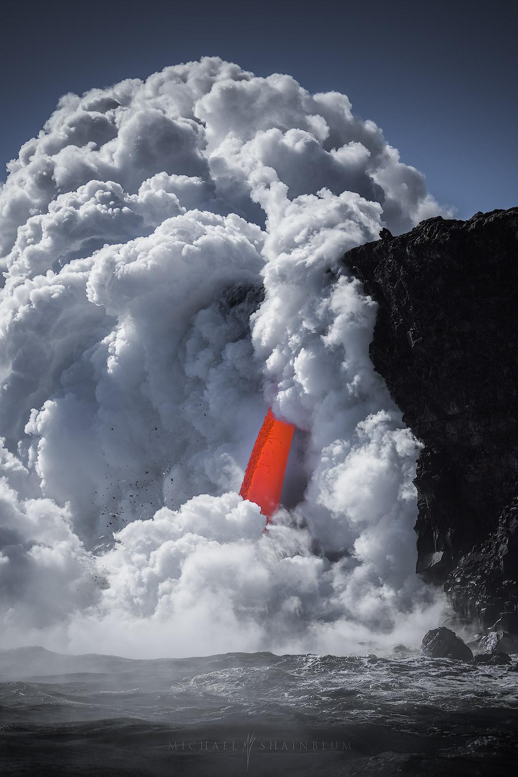 Hawaii Lava Volcano Photography