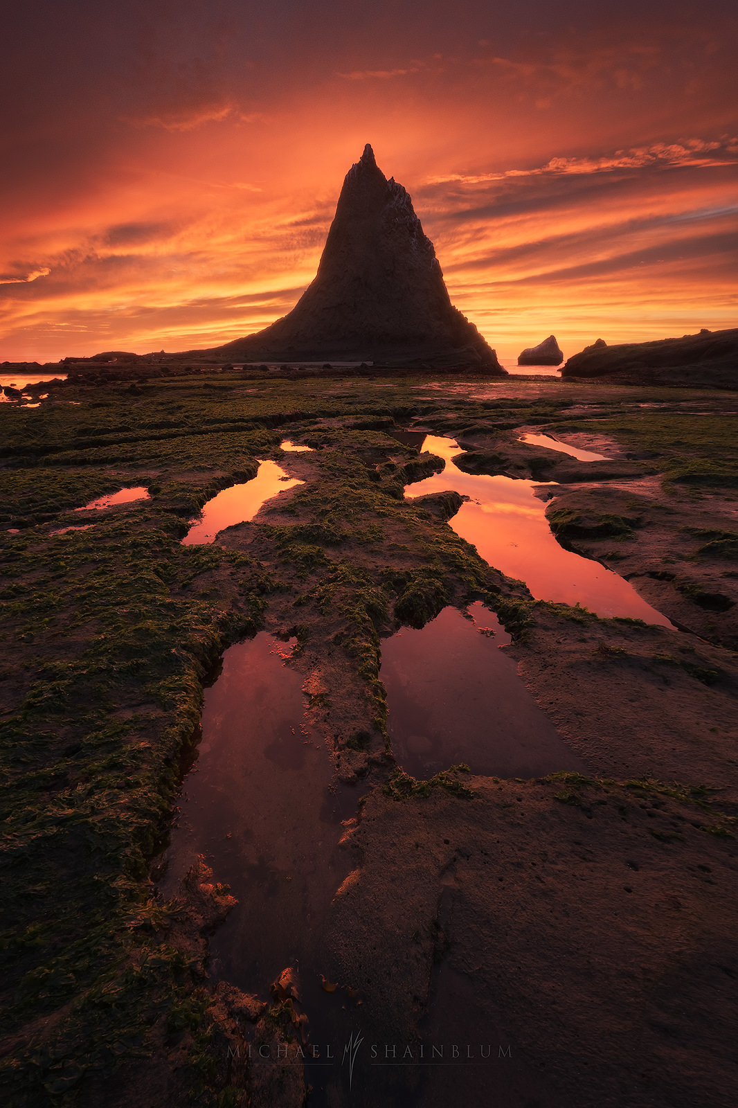 Half Moon Bay Seascape, Coastal Landscape Photography.