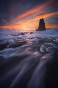 Santa Cruz Seascape, Coastal Landscape Photography.