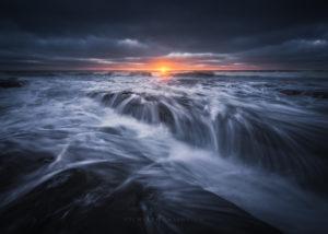 San Diego Seascape, Coastal Landscape Photography.
