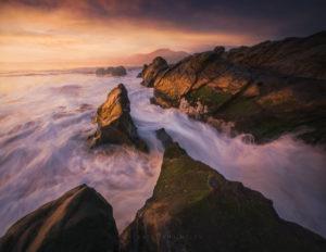San Francisco Seascape, Coastal Landscape Photography.