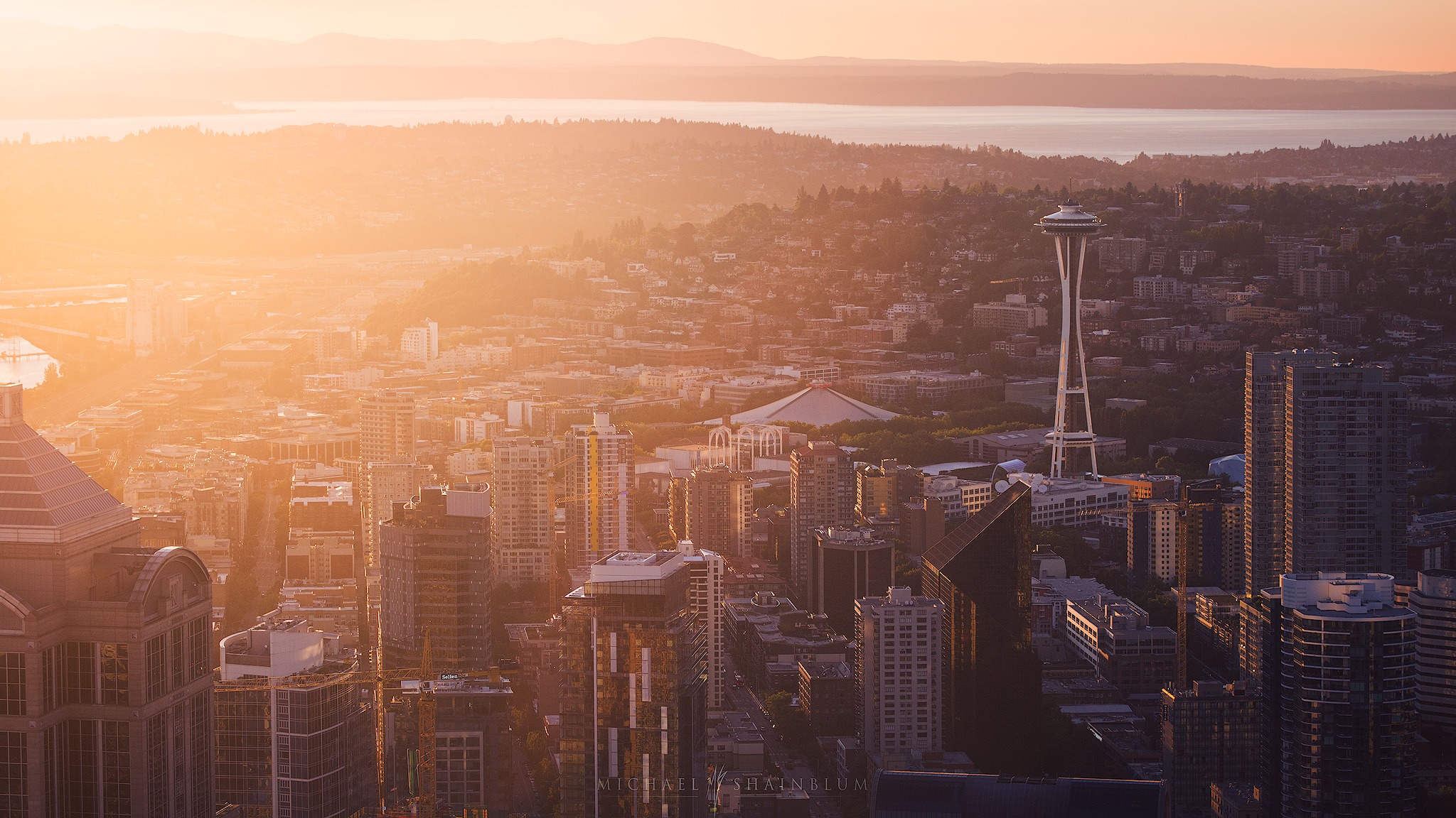 Seattle timelapse photography
