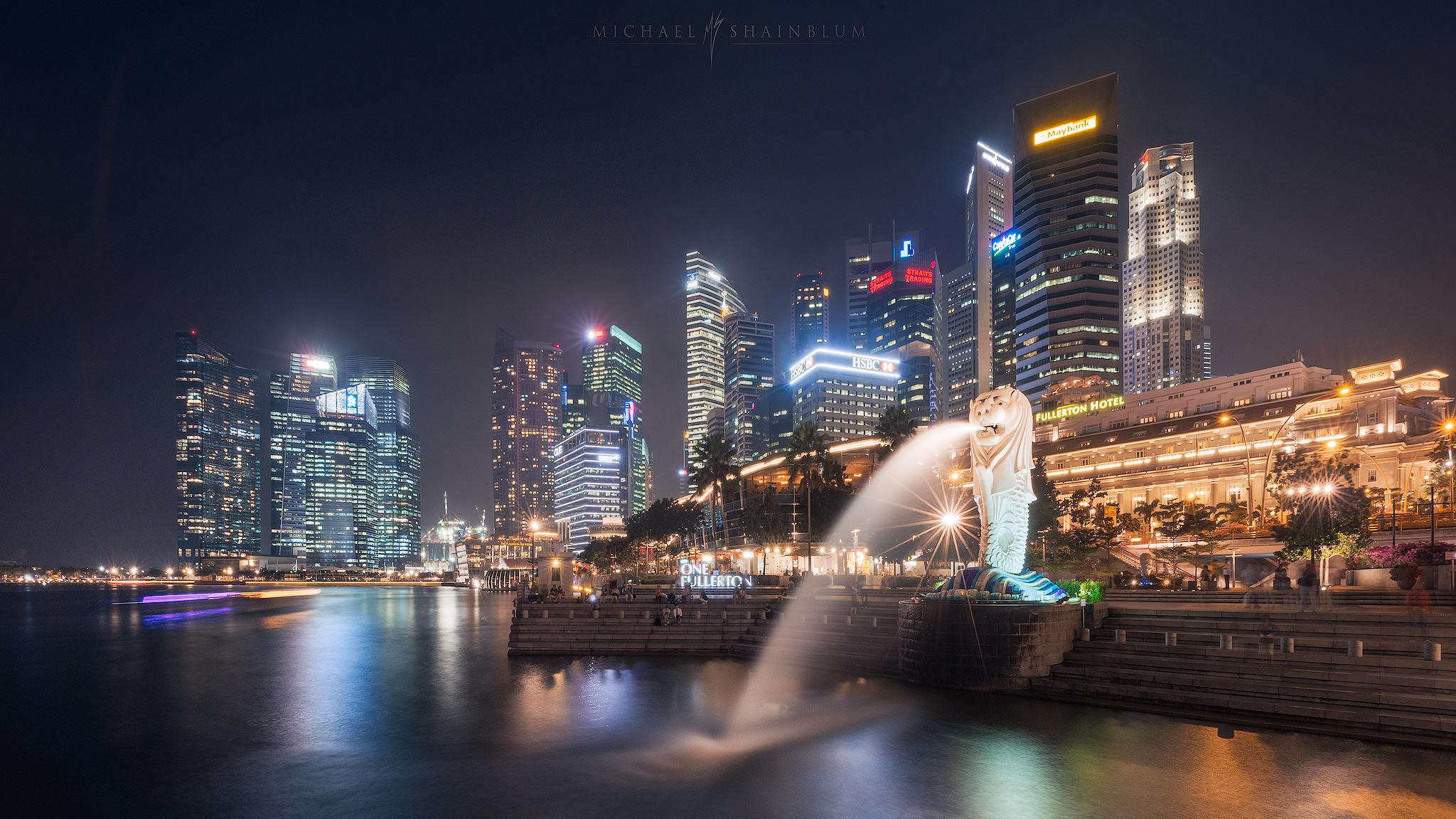 singapore city photography