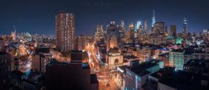 New York City, Night Cityscape Photography