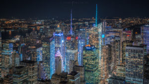 New York City, Cityscape Times Square Night Photography